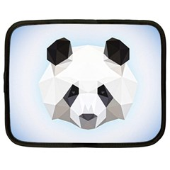 Background Show Graphic Art Panda Netbook Case (large)