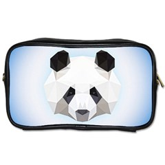 Background Show Graphic Art Panda Toiletries Bags 2 Side