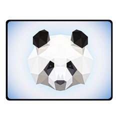 Background Show Graphic Art Panda Double Sided Fleece Blanket (small)