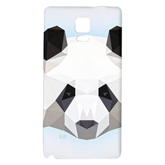 Background Show Graphic Art Panda Galaxy Note 4 Back Case by Simbadda
