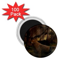 Mammal Nature Wood Tree Waters 1 75  Magnets (100 Pack)