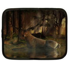 Mammal Nature Wood Tree Waters Netbook Case (xl)