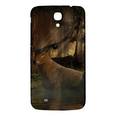 Mammal Nature Wood Tree Waters Samsung Galaxy Mega I9200 Hardshell Back Case by Simbadda