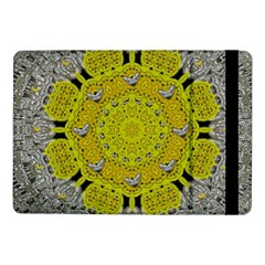 Sunshine And Silver Hearts In Love Samsung Galaxy Tab Pro 10 1  Flip Case by pepitasart