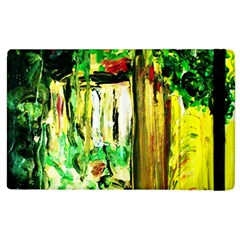 Old Tree And House With An Arch 4 Apple Ipad 2 Flip Case by bestdesignintheworld