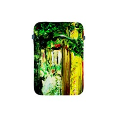 Old Tree And House With An Arch 4 Apple Ipad Mini Protective Soft Cases by bestdesignintheworld