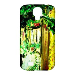 Old Tree And House With An Arch 4 Samsung Galaxy S4 Classic Hardshell Case (pc+silicone) by bestdesignintheworld