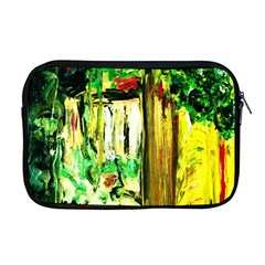 Old Tree And House With An Arch 4 Apple Macbook Pro 17  Zipper Case by bestdesignintheworld
