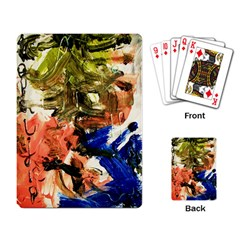Pagoda And Calligraphy Playing Card by bestdesignintheworld