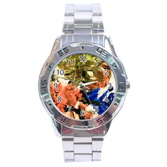 Pagoda And Calligraphy Stainless Steel Analogue Watch by bestdesignintheworld
