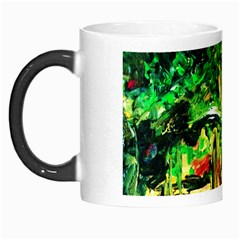 Old Tree And House With An Arch 2 Morph Mugs by bestdesignintheworld