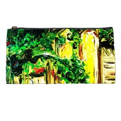 Old Tree And House With An Arch 2 Pencil Cases by bestdesignintheworld