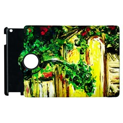Old Tree And House With An Arch 2 Apple Ipad 2 Flip 360 Case by bestdesignintheworld