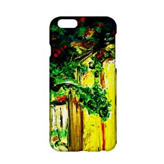 Old Tree And House With An Arch 2 Apple Iphone 6/6s Hardshell Case by bestdesignintheworld