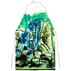 Clocls And Watches 3 Full Print Aprons by bestdesignintheworld