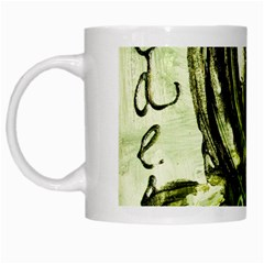 Pagoda Calligraphy 2 White Mugs by bestdesignintheworld
