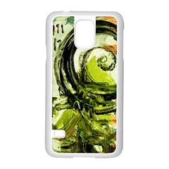 Pagoda Calligraphy 2 Samsung Galaxy S5 Case (white) by bestdesignintheworld