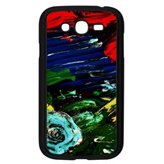Tumble Weed And Blue Rose 1 Samsung Galaxy Grand Duos I9082 Case (black) by bestdesignintheworld