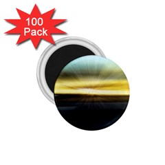 Hunstanton Beach At Summer  1 75  Magnets (100 Pack)  by bywhacky