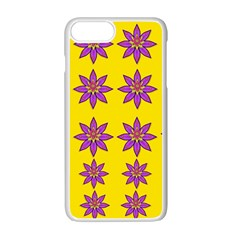 Fantasy Flower In The Happy Jungle Of Beauty Apple Iphone 7 Plus Seamless Case (white) by pepitasart
