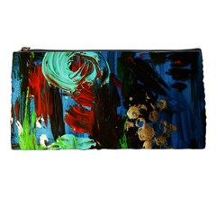 Night At The Foot Of Fudziama 2 Pencil Cases by bestdesignintheworld