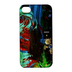 Night At The Foot Of Fudziama 2 Apple Iphone 4/4s Hardshell Case With Stand by bestdesignintheworld