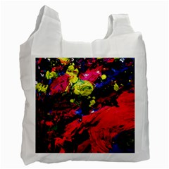 Night, Pond And Moonlight 1 Recycle Bag (one Side) by bestdesignintheworld