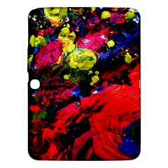 Night, Pond And Moonlight 1 Samsung Galaxy Tab 3 (10 1 ) P5200 Hardshell Case  by bestdesignintheworld
