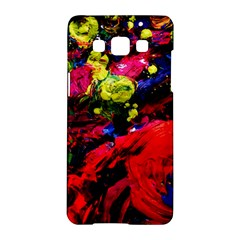 Night, Pond And Moonlight 1 Samsung Galaxy A5 Hardshell Case  by bestdesignintheworld