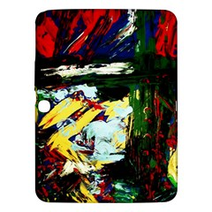 Tumble Weed And Blue Rose 2 Samsung Galaxy Tab 3 (10 1 ) P5200 Hardshell Case  by bestdesignintheworld