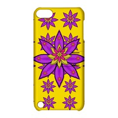 Fantasy Big Flowers In The Happy Jungle Of Love Apple Ipod Touch 5 Hardshell Case With Stand by pepitasart