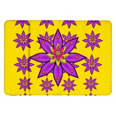 Fantasy Big Flowers In The Happy Jungle Of Love Samsung Galaxy Tab 8 9  P7300 Flip Case by pepitasart