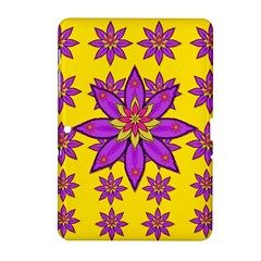 Fantasy Big Flowers In The Happy Jungle Of Love Samsung Galaxy Tab 2 (10 1 ) P5100 Hardshell Case  by pepitasart