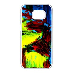 3 Samsung Galaxy S7 Edge White Seamless Case by bestdesignintheworld