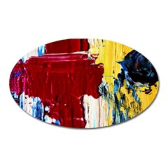 Point Of View #2 Oval Magnet by bestdesignintheworld