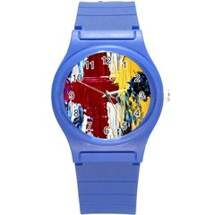 Point Of View #2 Round Plastic Sport Watch (s) by bestdesignintheworld