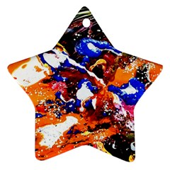 Smashed Butterfly Ornament (star) by bestdesignintheworld