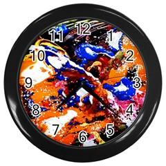 Smashed Butterfly Wall Clocks (black) by bestdesignintheworld