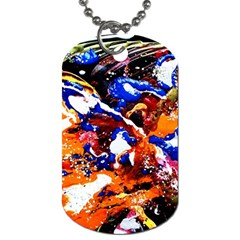 Smashed Butterfly Dog Tag (one Side) by bestdesignintheworld