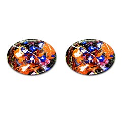 Smashed Butterfly Cufflinks (oval) by bestdesignintheworld