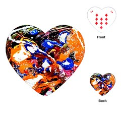 Smashed Butterfly Playing Cards (heart)  by bestdesignintheworld