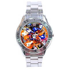 Smashed Butterfly Stainless Steel Analogue Watch by bestdesignintheworld