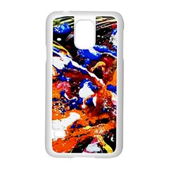Smashed Butterfly Samsung Galaxy S5 Case (white) by bestdesignintheworld