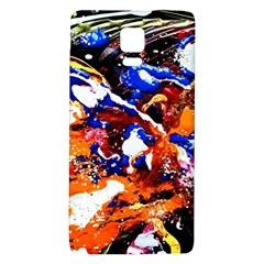 Smashed Butterfly Galaxy Note 4 Back Case by bestdesignintheworld