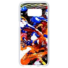 Smashed Butterfly Samsung Galaxy S8 White Seamless Case by bestdesignintheworld