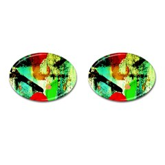 Humidity 4 Cufflinks (oval) by bestdesignintheworld