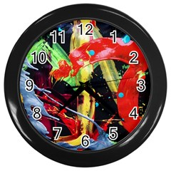 Enigma 3 Wall Clocks (black)