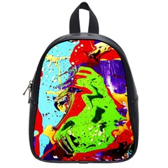 Untitled Island 1 School Bag (small) by bestdesignintheworld