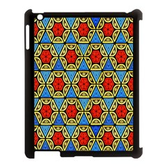 Artwork By Patrick Colorful 43 Apple Ipad 3/4 Case (black) by ArtworkByPatrick