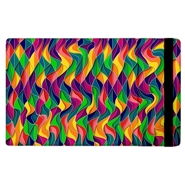 ARTWORK BY PATRICK-COLORFUL-44 Apple iPad 2 Flip Case